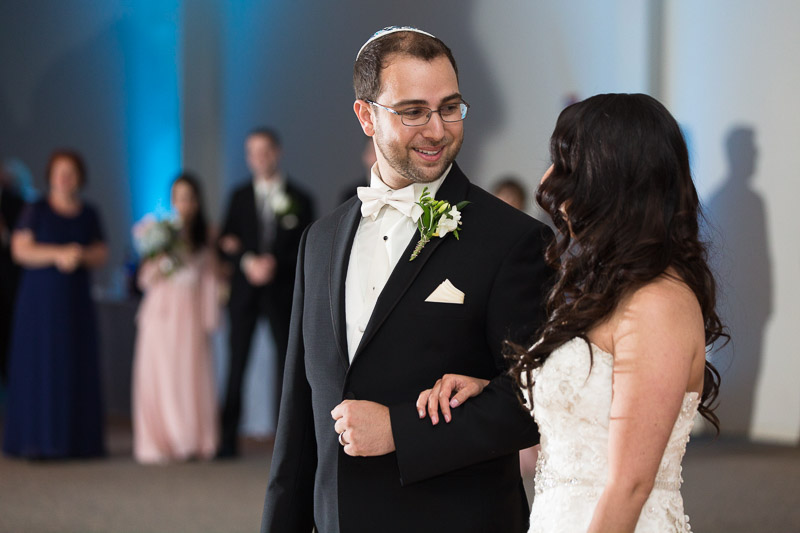 denver jewish wedding photographer first dance