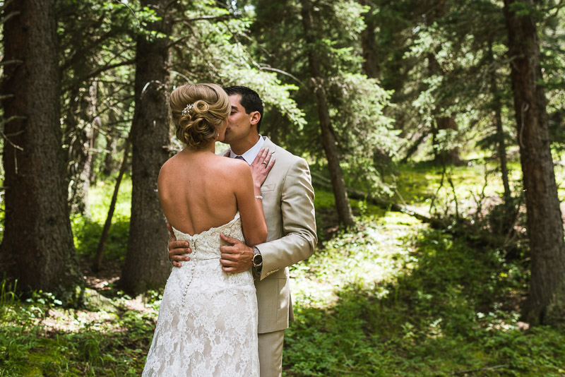 Emily and Ryan Lower Lake Ranch Wedding Photography first look