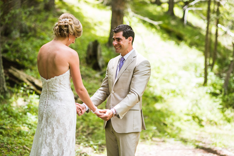 Emily and Ryan Lower Lake Ranch Wedding Photography laugh