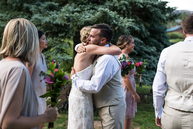 Emily and Ryan Lower Lake Ranch Wedding Photography happy bride