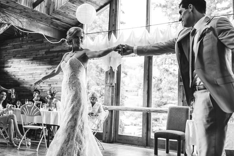 Emily and Ryan Lower Lake Ranch Wedding Photography dancing