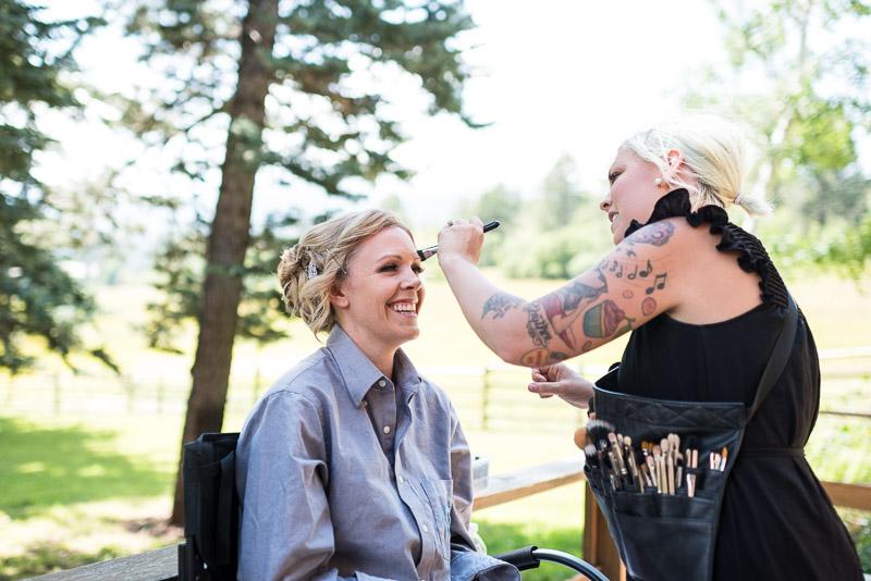 Cuchara Wedding Photographer makeup