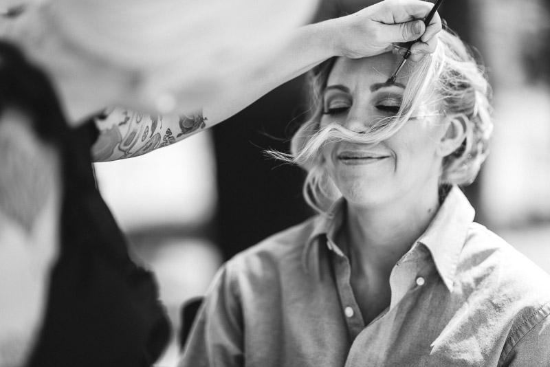 Cuchara Wedding Photographer bride makeup