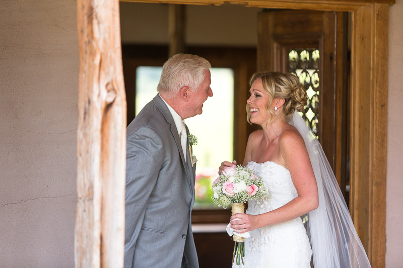 Cuchara Wedding Photographer father of bride
