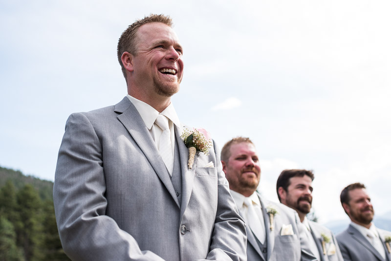 Cuchara Wedding Photographer smiling groom