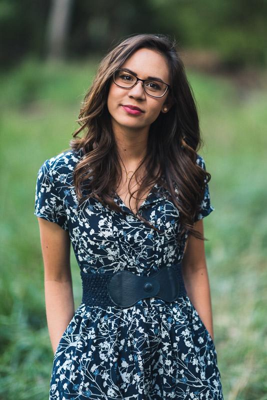 Denver high school senior photos pocket dress