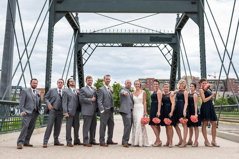 Denver athletic club wedding lodo photos