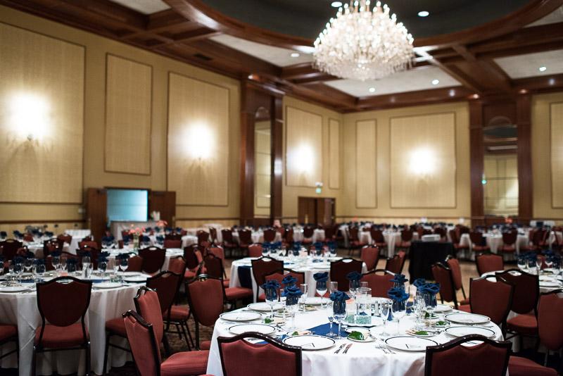 Denver athletic club wedding ballroom
