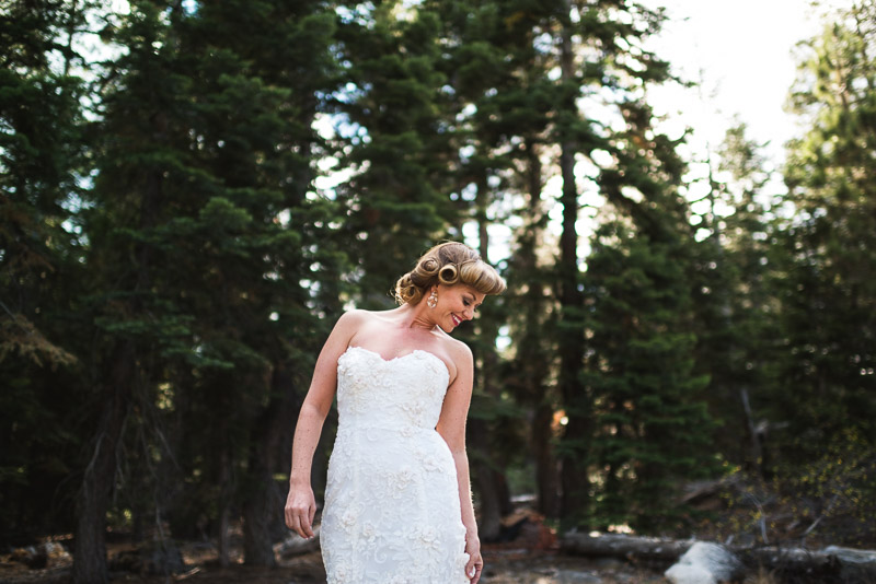 Lake Tahoe Wedding Photographer candid bride
