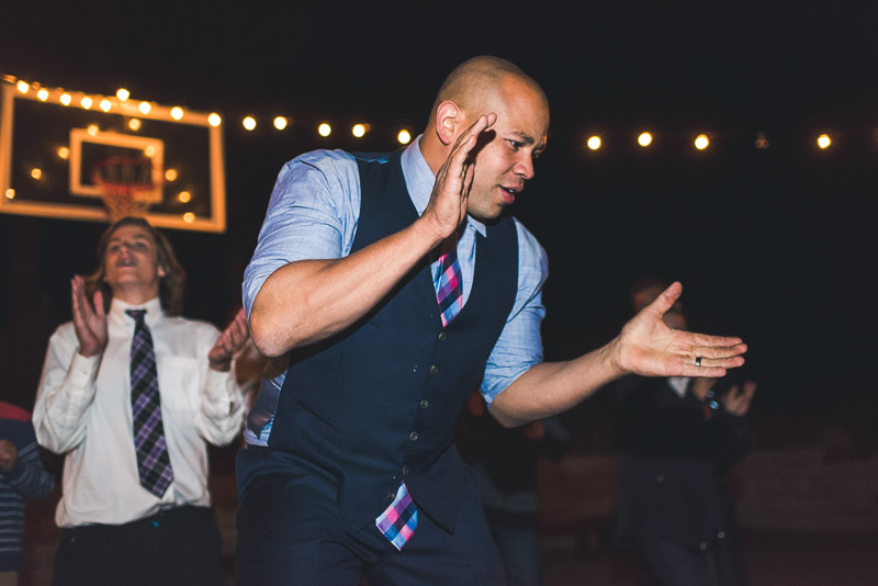Lake Tahoe Wedding Photographer dancing