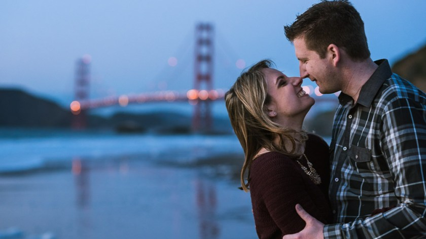 San Francisco Engagement Photographer Golden Gate Bridge