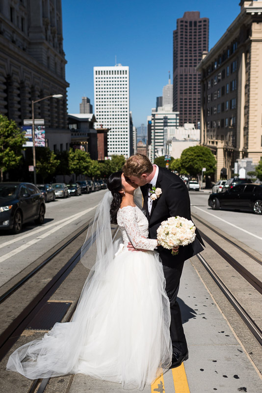 San Francisco Fairmont Hotel Wedding Photography