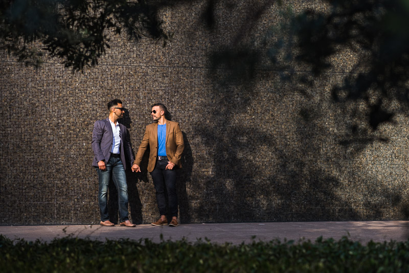 San Francisco Same Sex Engagement Photography Financial District
