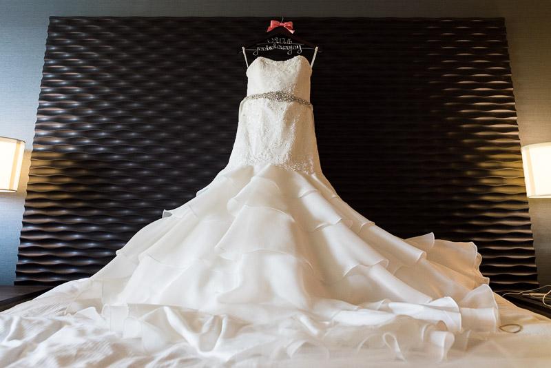 San Francisco Wedding Photography wedding dress