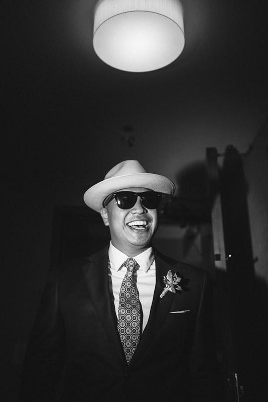 San Francisco Wedding Photography fun happy groom