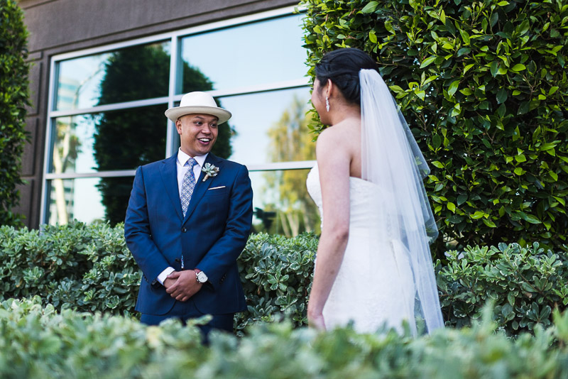 San Francisco Wedding Photography first look