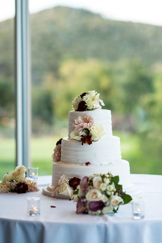 San Jose Silver Creek Country Club cake wedding photography