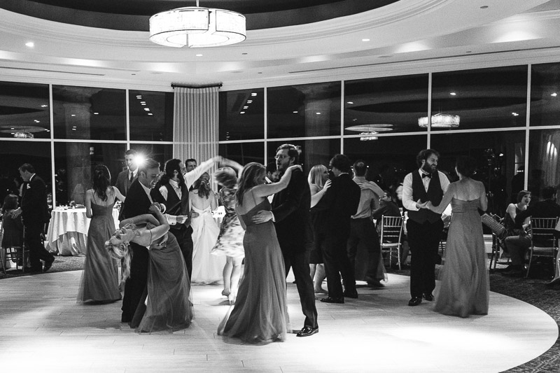 San Jose Silver Creek Country Club wedding photography dancing