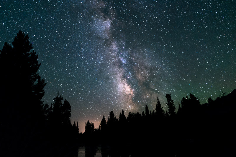 Grand Tetons National Park milky way
