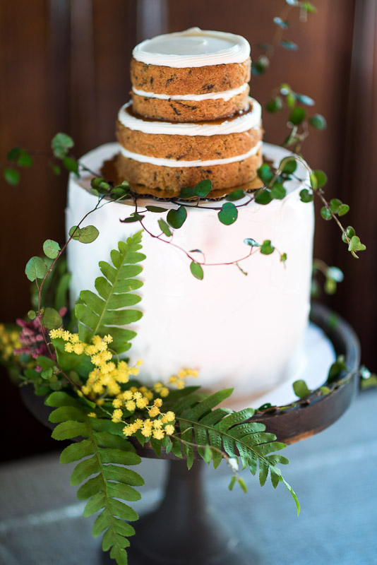 naked cake bloom cake