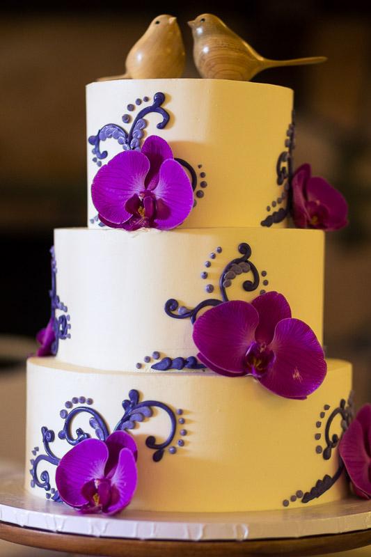 San Francisco Wedding Photography Villa Chanticleer wedding cake