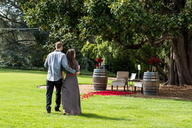 Sonoma Chateau St Jean Vineyard couple