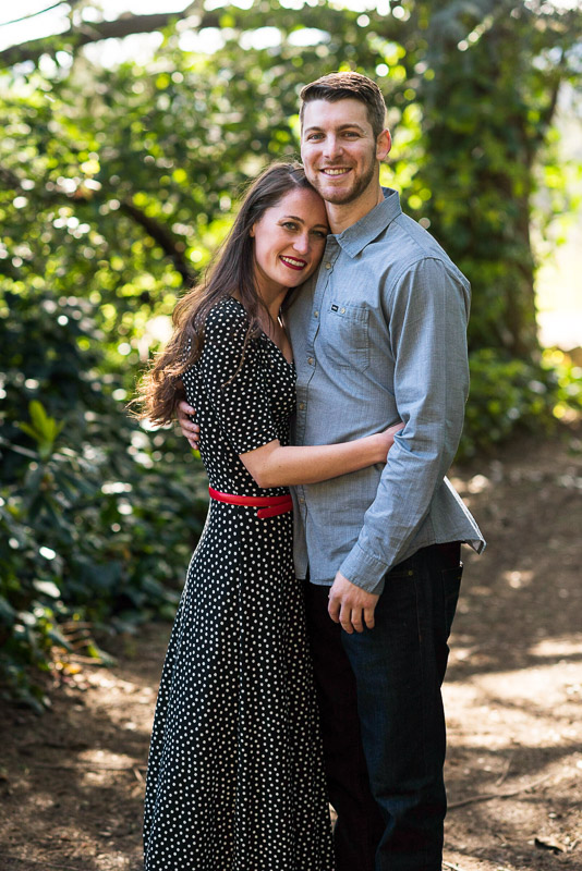 Sonoma Chateau St Jean Vineyard engagement