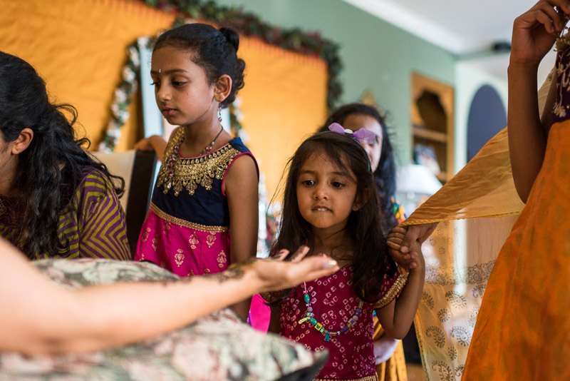 San Francisco Mehndi Ceremony Photographer curious child