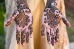 San Francisco Mehndi Ceremony Photography brides hands with henna