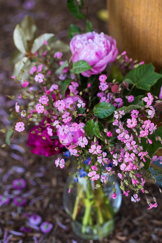 Sonoma Vineyard Proposal Photography Chateau St Jean flower arrangement