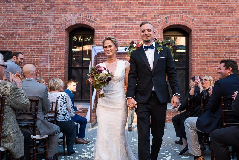 San Francisco Wedding Photographer Argonaut Hotel married