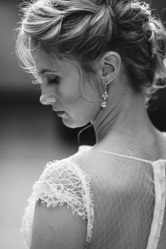 San Francisco Wedding Photographer Argonaut Hotel bridal portrait