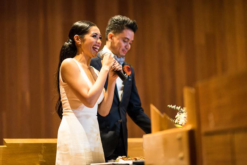 san francisco curiodyssey wedding bride speech