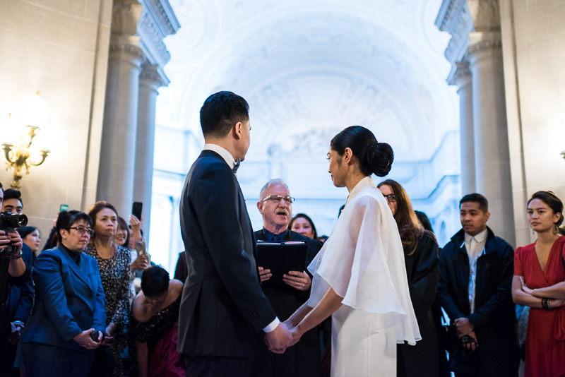 San Francisco City Hall officiant