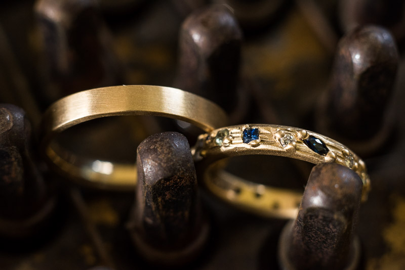 Strauss home ranch wedding wedding rings
