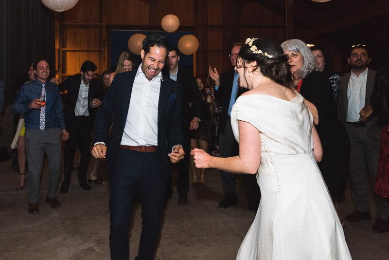 Strauss home ranch wedding dancing groom
