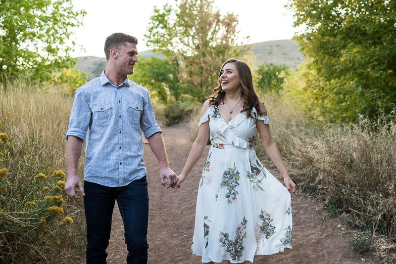 Denver Engagement Photography Morrison sunset