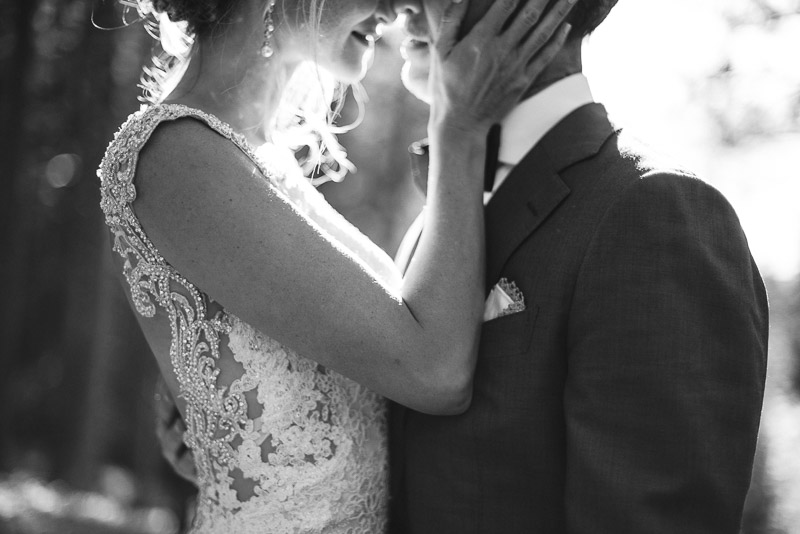 Vail Wedding Photography Camp Hale couple kissing