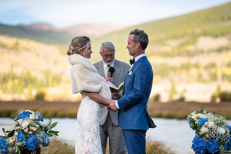 Vail Wedding Photography Camp Hale wedding ceremony