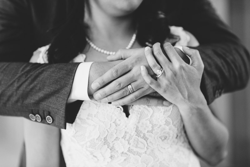 San Francisco City Hall Wedding Photography embrace