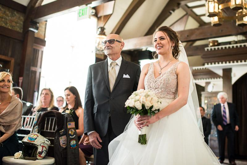 Denver Wedding Photography Wellshire Inn wedding ceremony