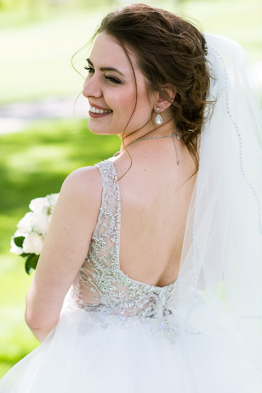 Denver Wedding Photography Wellshire Inn bride portrait
