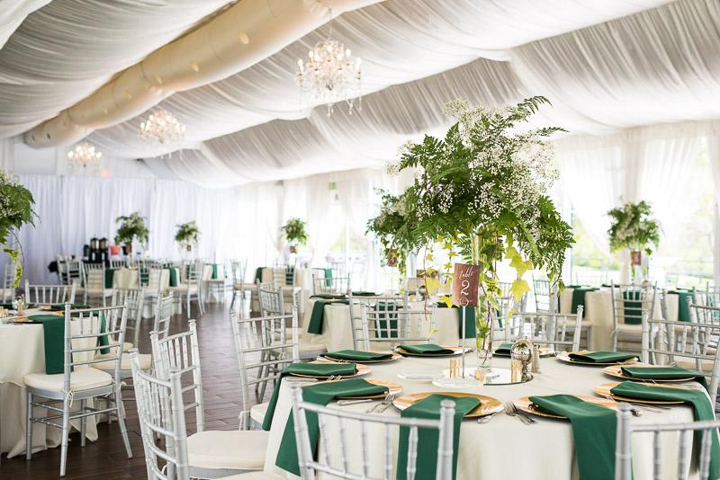 Denver Wedding Photography Wellshire Inn reception room