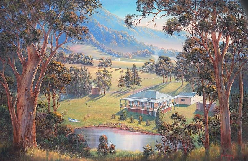 Gails Place painting John Bradley