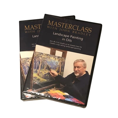 John Bradley Landscape Painting Masterclass DVD