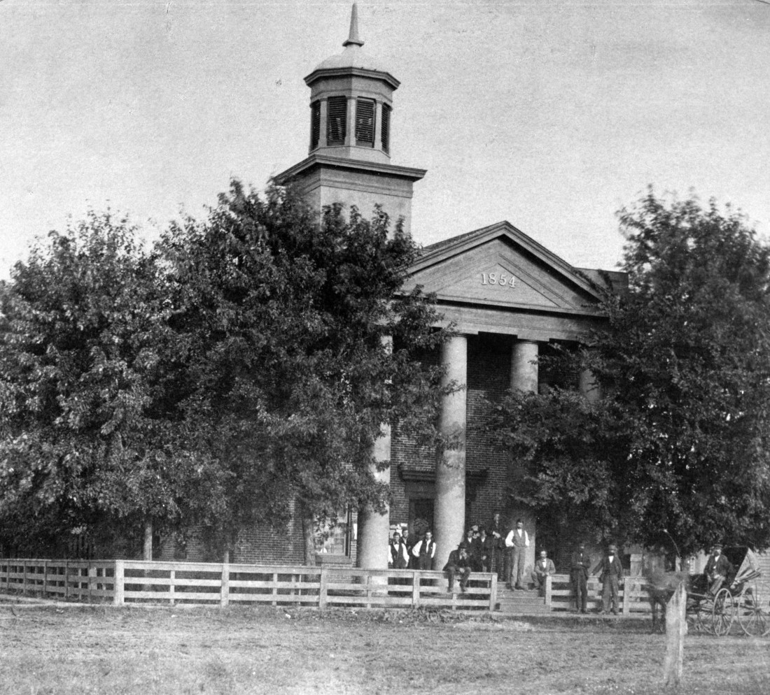 1854 Clinton County Courthouse