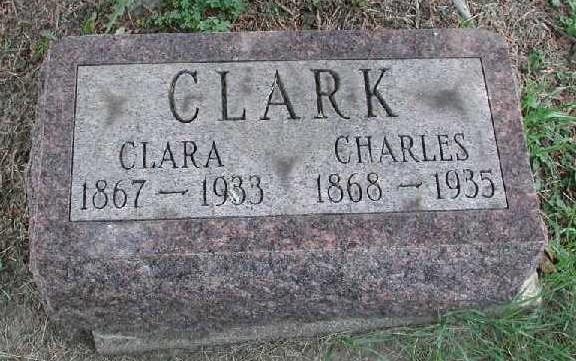 charles clark grave