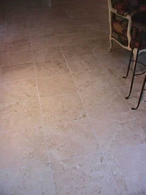 Groutless Floor Tile