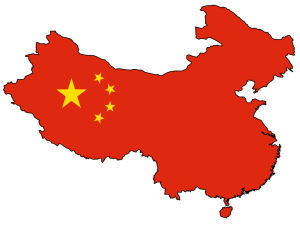 china-flag-map