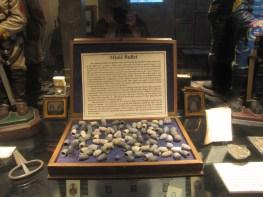 Ammunition of the Civil War in the Lloyd Tilghman House & Civil War Museum.
